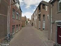 Brandweer naar Speelmansstraat in Leeuwarden vanwege verkeersongeval