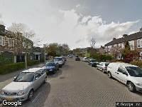 Brandweer naar Henriëtte Roland Holststraat in Amsterdam