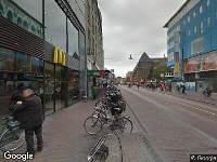 112 melding Brandweer naar Lange Viestraat in Utrecht vanwege afgaan automatisch brandalarm