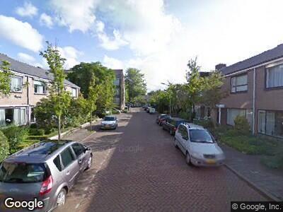 Ambulance naar Van Mathenessestraat in Warmond