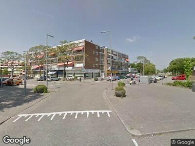 Ambulance naar Bierens de Haanweg in Rotterdam