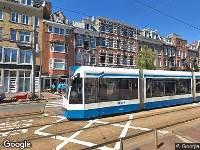 112 melding Brandweer naar Anna van den Vondelstraat in Amsterdam vanwege brand