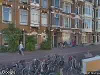 112 melding Ambulance naar Overtoom in Amsterdam