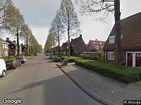 Ambulance naar Scharwouderstraat in Amsterdam