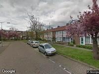 112 melding Brandweer en politie naar Van der Goesstraat in Arnhem