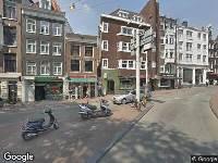 Brandweer naar Hekelveld in Amsterdam vanwege verkeersongeval