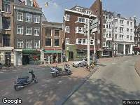 Ambulance naar Hekelveld in Amsterdam