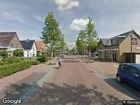 Ambulance naar Stationsweg in Oostvoorne vanwege brand