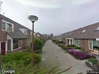 Ambulance naar Plevierstraat in Alkmaar