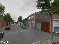 112 melding Ambulance naar Van Hogendorpstraat in Tilburg