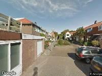 112 melding Brandweer naar De la Reystraat in Den Helder vanwege een buitenbrand