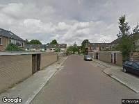 112 melding Ambulance naar Wega in Dordrecht