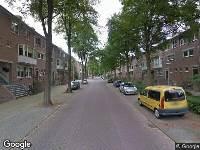 Brandweer naar Maarten de Vriesstraat in Breda
