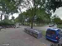 Brandweer naar Van Vollenhovenplein in Leiden