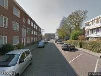 Ambulance naar Curiestraat in Amsterdam