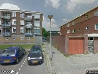 Brandweer naar Tak van Poortvlietstraat in Gouda vanwege waarnemen gaslucht