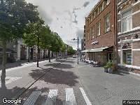 Brandweer naar Van Coothplein in Breda
