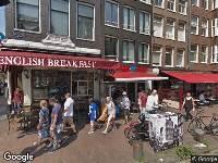 Ambulance naar Nieuwendijk in Amsterdam