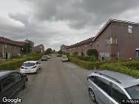 112 melding Brandweer naar Moezel in Leeuwarden vanwege afgaan rookmelder