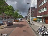 112 melding Brandweer naar Ottho Heldringstraat in Amsterdam vanwege verkeersongeval