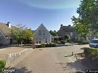 112 melding Ambulance naar Bereklauw in Udenhout