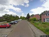 112 melding Brandweer naar Geulstraat in Assen vanwege gebouwbrand