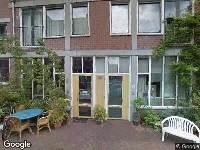 Ambulance naar Touwslagerstraat in Amsterdam