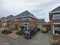 Ambulance naar Oester in Middenmeer