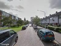 Brandweer naar Titus Brandsmalaan in Leiden vanwege waarnemen gaslucht