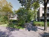 Brandweer naar Boslaan in Bilthoven