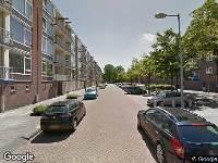Ambulance naar Honselersdijkstraat in Amsterdam