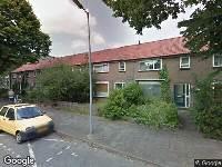 112 melding Brandweer naar Roelantstraat in Alkmaar vanwege verkeersongeval