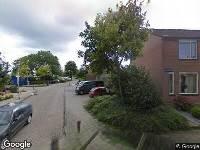 Ambulance naar Hooijerdijk in Bodegraven