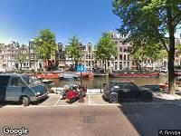 112 melding Ambulance naar Prinsengracht in Amsterdam
