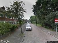 Ambulance naar Cederlaan in Rijswijk