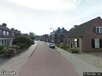 112 melding Ambulance naar Ridder van Cuijkstraat in Boxtel