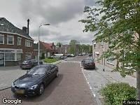 112 melding Besteld ambulance vervoer naar Vendeliersstraat in Tilburg