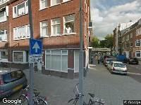 Traumahelikopter naar Bonaventurastraat in Rotterdam