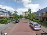 112 melding Ambulance naar Zanglijsterlaan in Leidschendam