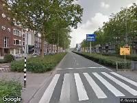 Ambulance naar Pleinweg in Rotterdam