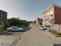 Ambulance naar Fien de la Marstraat in Castricum