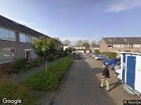 112 melding Brandweer naar Fideliohof in Alphen aan den Rijn