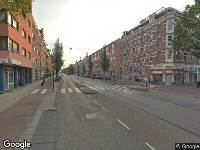 Brandweer naar Wijttenbachstraat in Amsterdam vanwege brand