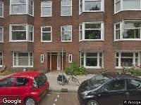 Ambulance naar President Kennedylaan in Amsterdam