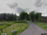 Ambulance en brandweer naar Middelburgseweg in Waddinxveen