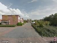 112 melding Brandweer naar Isaäc da Costastraat in Sommelsdijk