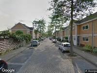 Ambulance naar Chinastraat in Alphen aan den Rijn