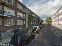Ambulance naar Wuysterstraat in Rotterdam