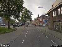 Politie naar Kruisstraat in Heerlen vanwege aanrijding met letsel