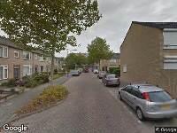 Ambulance naar Ranonkelstraat in Oosterhout